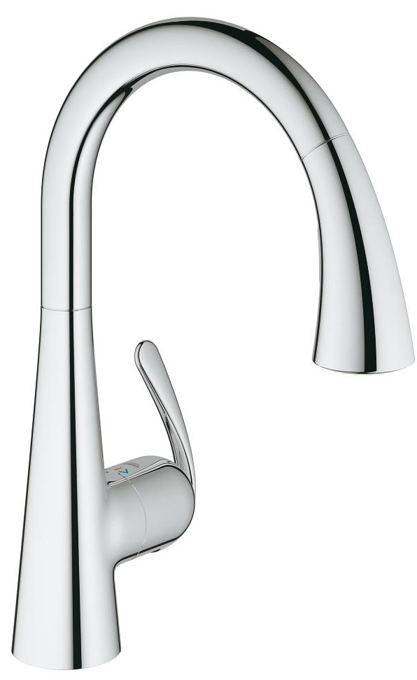 СМЕСИТЕЛ GROHE ZEDRA pull-out 32294001